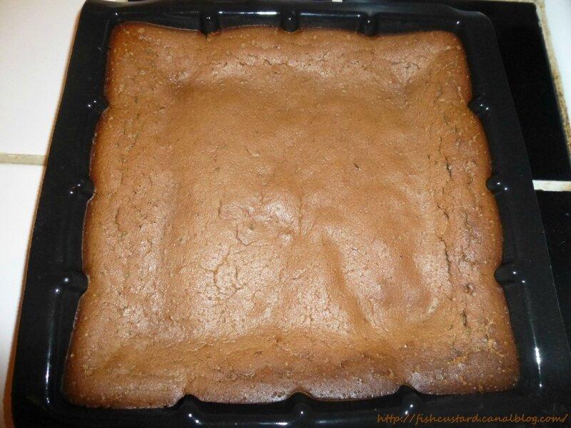 Fondant au chocolat à la crème fraîche (2)