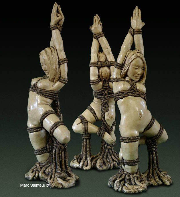 Sculpture kinbaku Doll 2