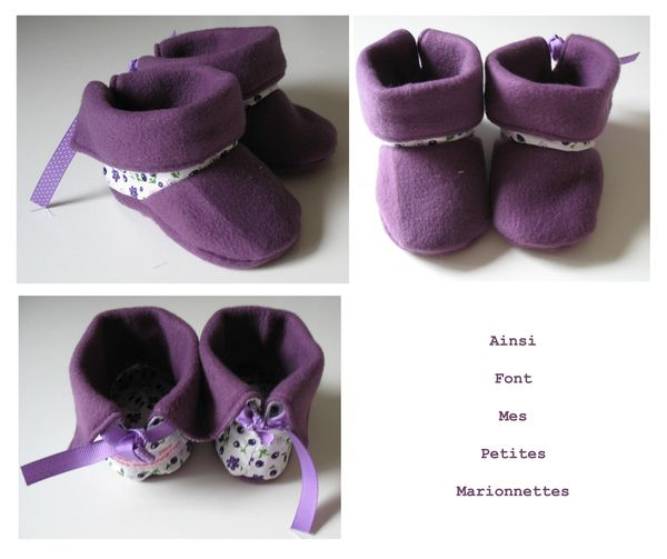 bottines violettes 1