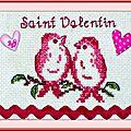 Échange ATC Personnel Février [St Valentin] Marie de Clessé pour Isaphanie (1)