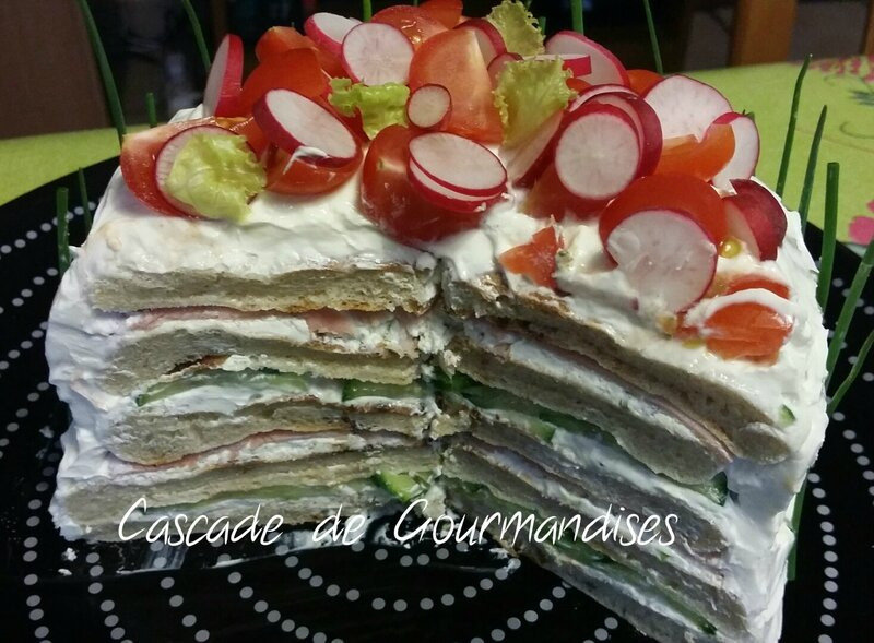 Sandwich Cake intérieur