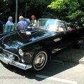 Ford thunderbird convertible de 1956 (37ème internationales oldtimer meeting de baden-baden)