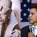 Le président barack obama et le clonage pour une guerre des étoiles à venir