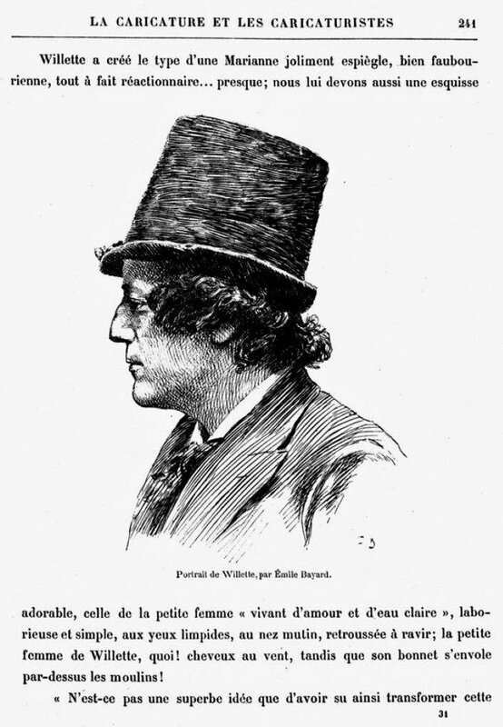 Willette caricature
