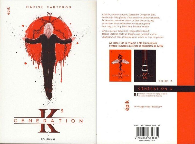 3 - Génération K - T3 -Marine Carteron