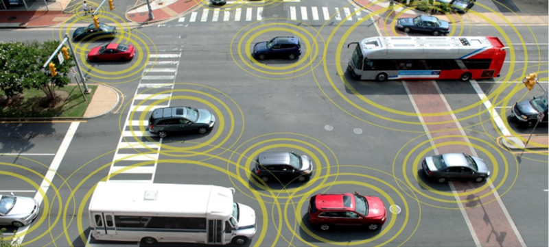 connected car illustration