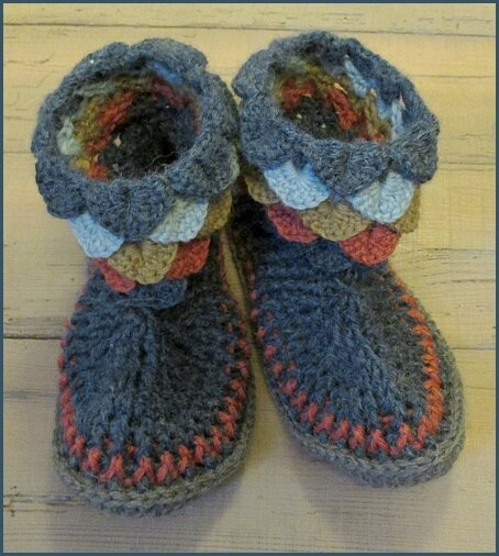 Chaussons coquilles