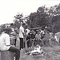 Mémoire photos de m.claudel sortie avec des élèves du collège colbert