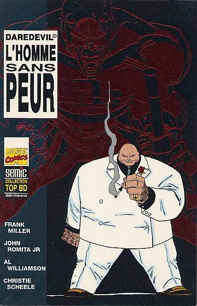 semic top BD 36 daredevil l'homme sans peur 2