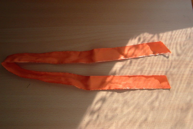 ruban orange