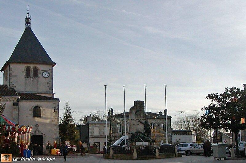 Monument aux morts de Pessac en Gironde