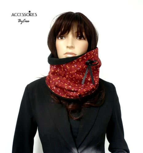 Echarpe col snood Liberty