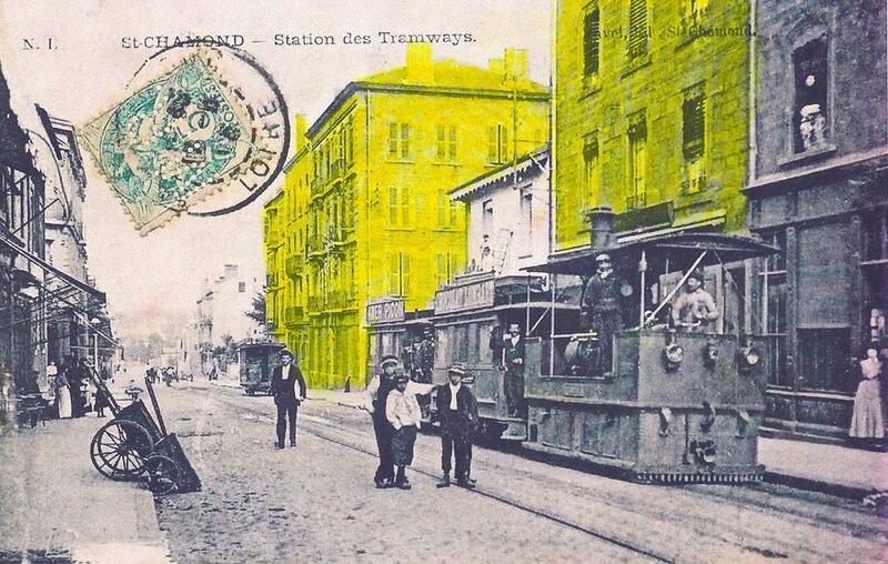 tramway rue Victor Hugo espaces coloriés
