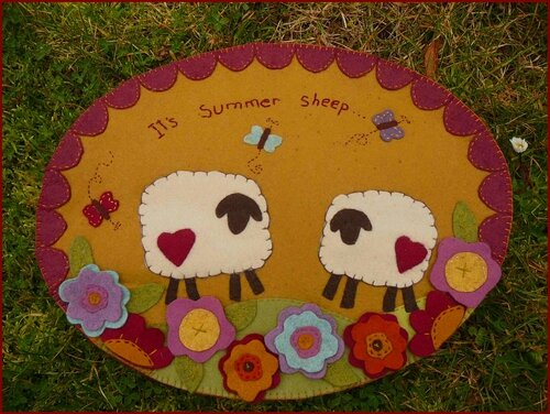 It's summer sheeps !