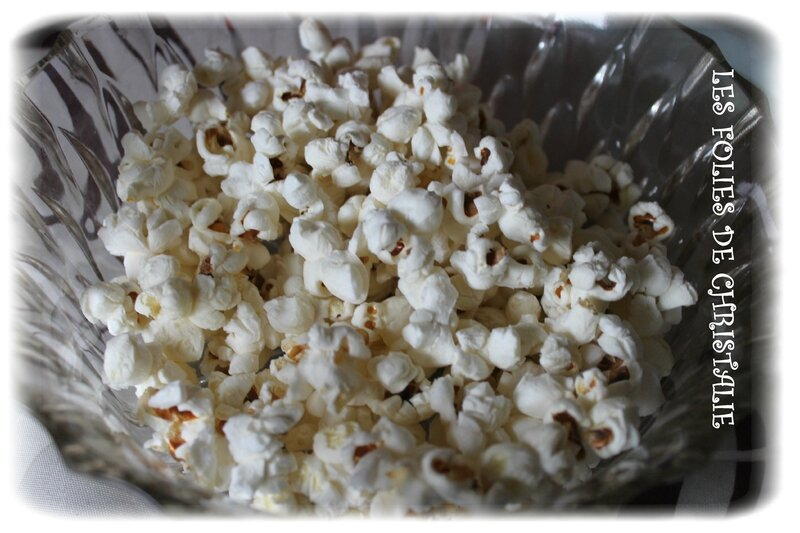 Pop corn salé 1