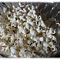 Pop corn salé