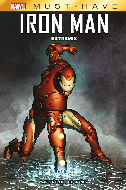 marvel must have iron man extremis
