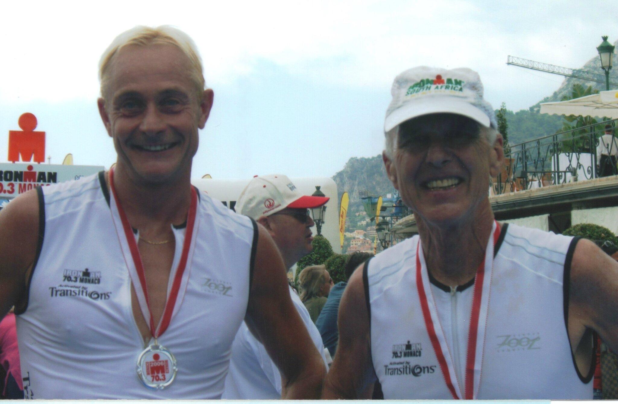 Avec Gerd Weber
