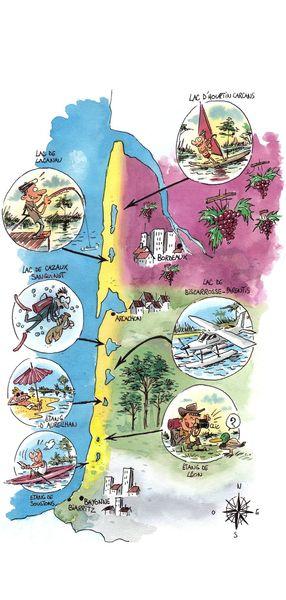 carte milathea