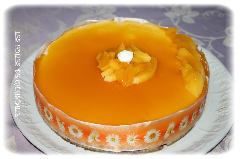 Cheesecake mangue 10