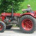 Moi sur un tracteur !