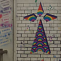 Street art : hermine cour école plougastel daoulas