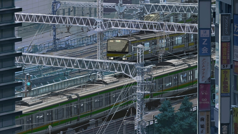 Canalblog Anime Makoto Shinkai The Garden Of World Train04