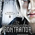 [cover reveal] the iron traitor de julie kagawa