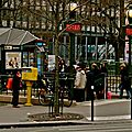 Station Jussieu Lignes 7 & 10.