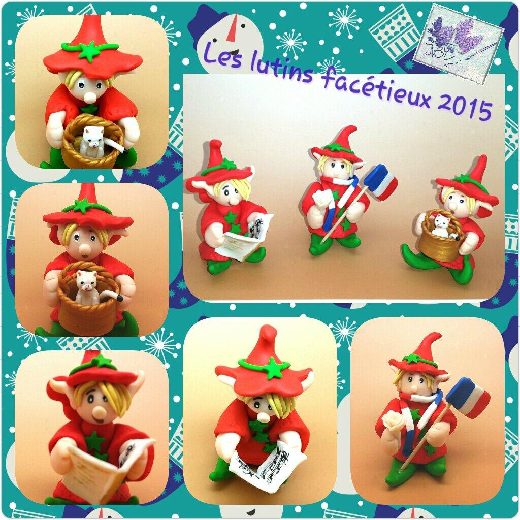 Petits lutins facétieux de Noël 2015