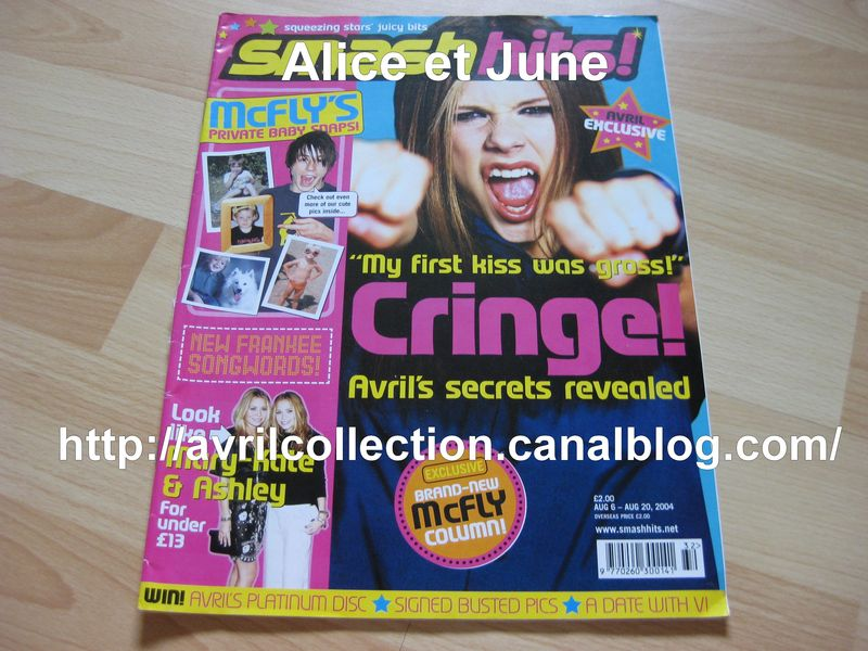 Smash Hits! Magazine (août 2004)