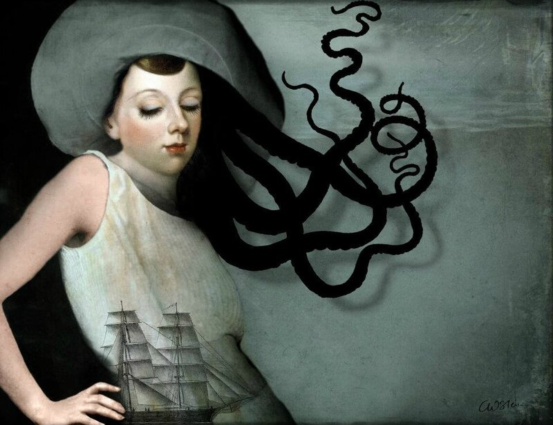 Catrin Welz-Stein - German Surrealist Graphic Designer - Tutt'Art@ (72)
