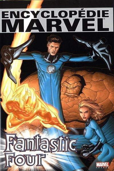encyclopédie marvel 3 fantastic four