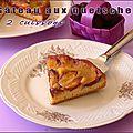 Gâteau aux quetsches en 2 cuissons