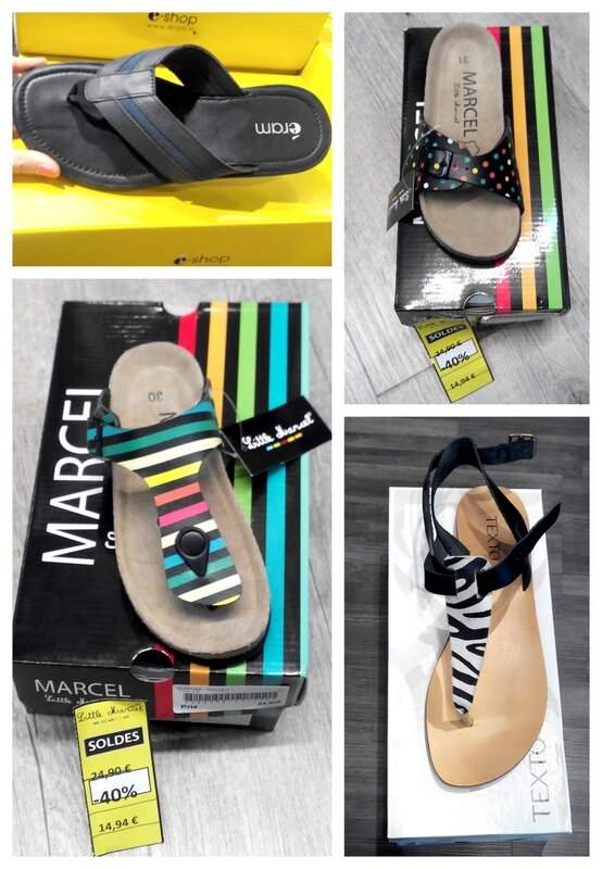 Selection shopping toison d'or Nu-pieds