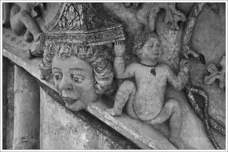 Maestrazgo Morella eglise detail 260514 36