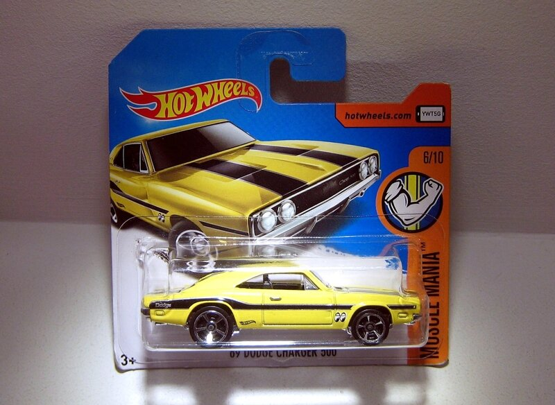 Dodge Charger 500 de 1969 (Hotwheels) (2)