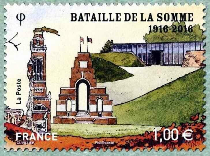 Bataiille de la somme timbre2