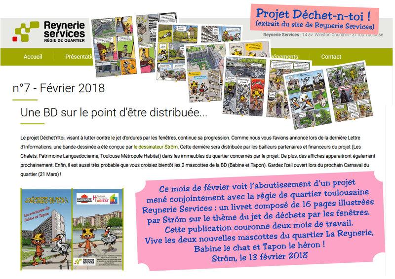 BD Déchet-n-toi !-annonce site Reynerie services