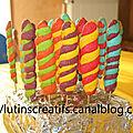 Lollipop cookies