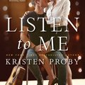 ** cover reveal ** listen to me by kristen proby