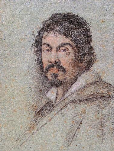 Le Caravage par Ottavio Leoni en 1621