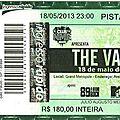 The vaccines - samedi 18 mai 2013 - grand metropole (são paulo)