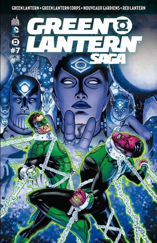 green lantern saga 07
