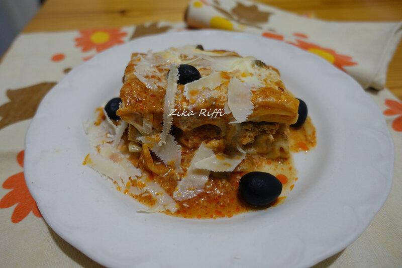 lasagnes farcie