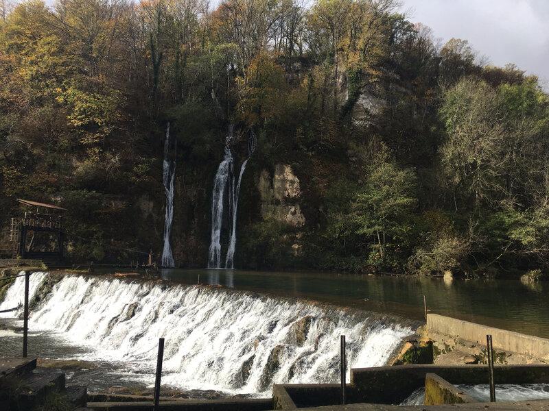Le barrage de Métral et ses jolies cascades