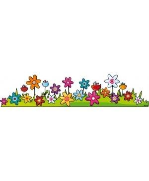 frise fleurs