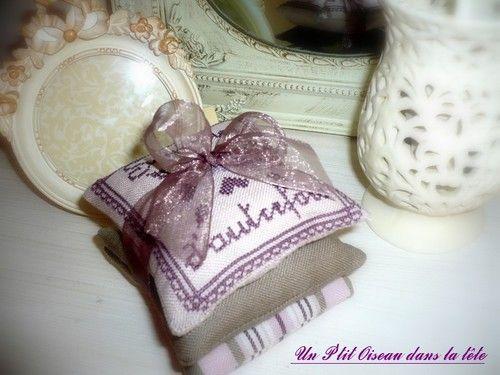 Coussins parfumés