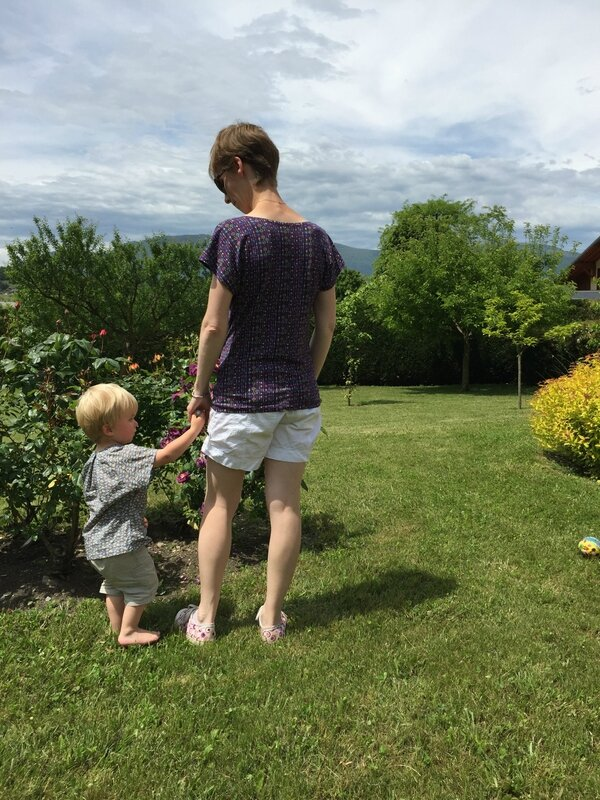 Mère/fils en home-made