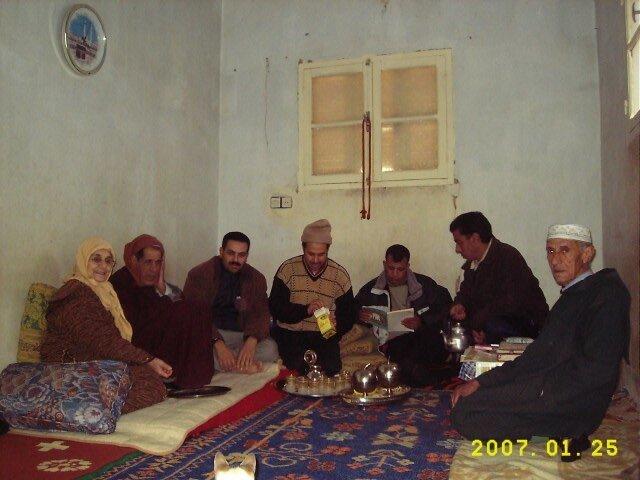 مع بابا حسن عند بويا هاشم بأولاد عياد